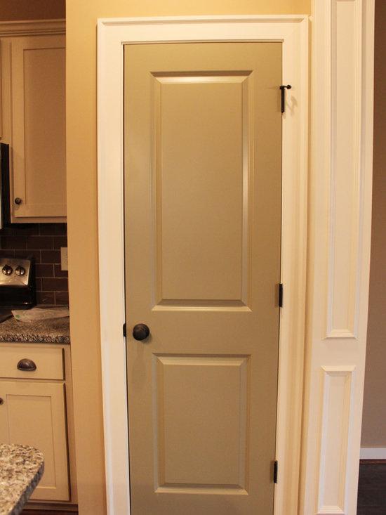 Painted interior doors home design ideas pictures for Interior door paint ideas