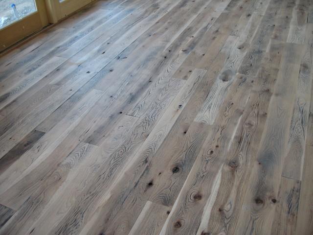 Ceruse floors - Parquet blanc ceruse ...