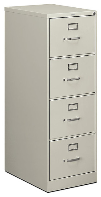 "Hon 510 4-Drawer Legal File, 52""x18""x25"" contemporary-filing-cabinets"