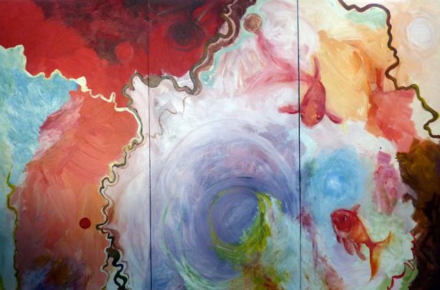 Fine Art- Paintings of Fish artwork