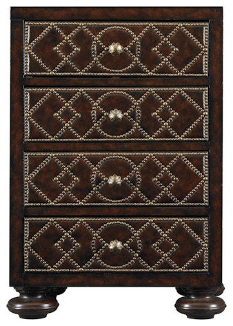 Andalusian Portico Chest traditional-accent-chests-and-cabinets