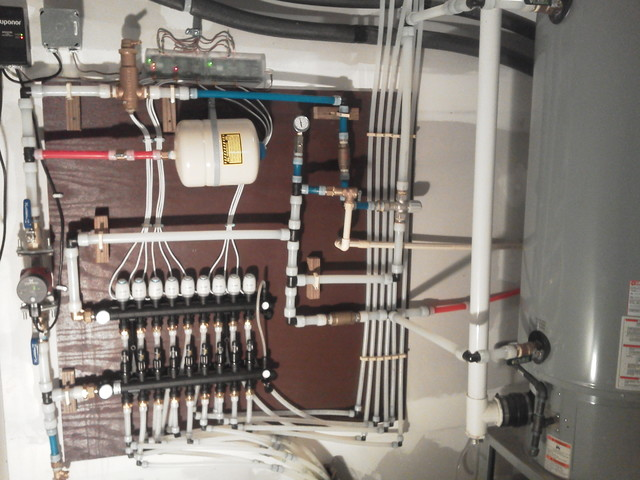 radiant heat flooring basement other metro by a c trades and