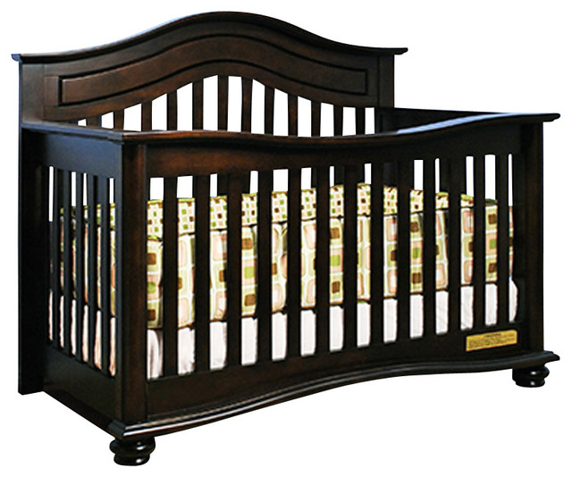 AFG Baby Jordana Convertible Crib in Espresso traditional-cribs