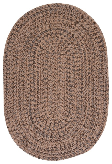 Hayward, Mocha Rug, 2'X6' traditional-rugs