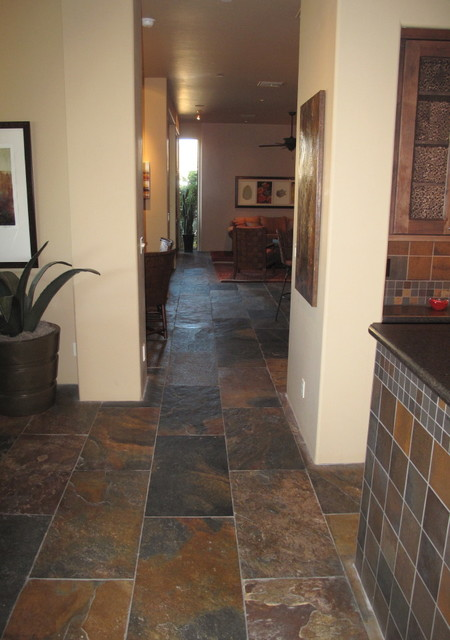 Stone Pewter Tile mediterranean-wall-and-floor-tile