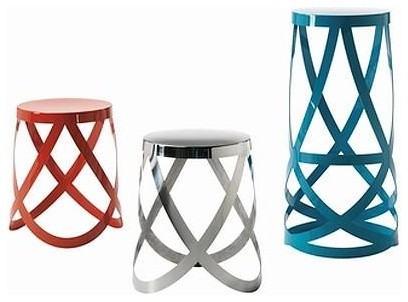 Ribbon Stool Series By Nendo For Cappellini contemporary-bar-stools-and-counter-stools