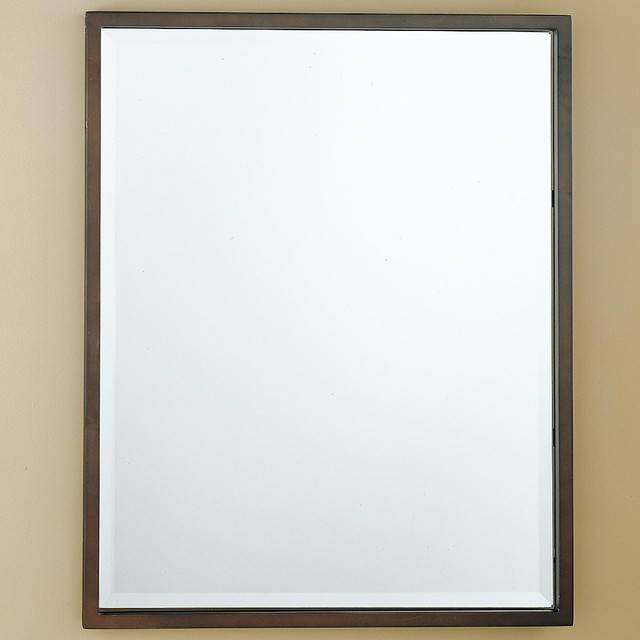 Http Www Houzz Com Photos 3061870 Rectangle Simple Mirror 30x24 Bathroom Mirrors