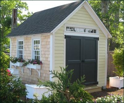 10 39 x 12 39 quivett cottage modern sheds other metro for Modern outdoor storage shed
