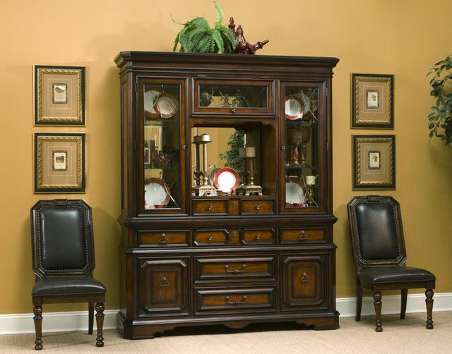 Hudson Bay China Cabinet - Contemporary - Buffets And Sideboards - by Overstock.com