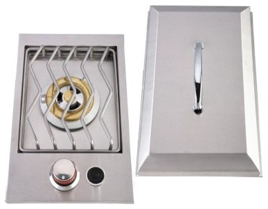 Sunstone Grills Drop-In Single Side Burner modern-outdoor-grills
