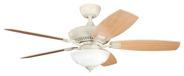 Kichler Lighting 337016adc Canfield Pro 52 Transitional Ceiling Fan Beach Style Ceiling