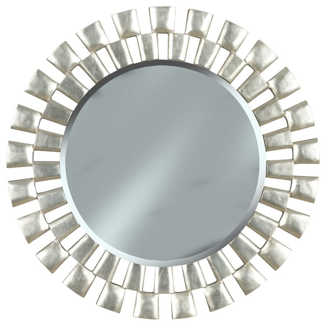 Amazoncom silver bathroom mirror