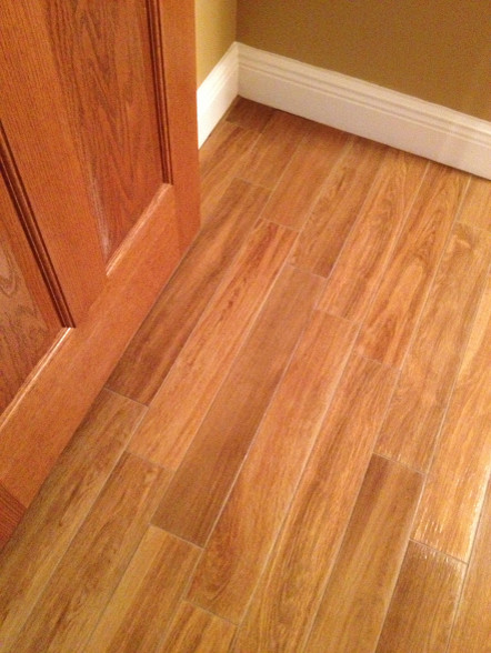 Porcelain plank wood look tile installations tampa florida Wood porcelain tile planks