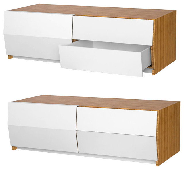 Planar Console - Contemporary - Entertainment Centers And Tv Stands - by Brave Space Design