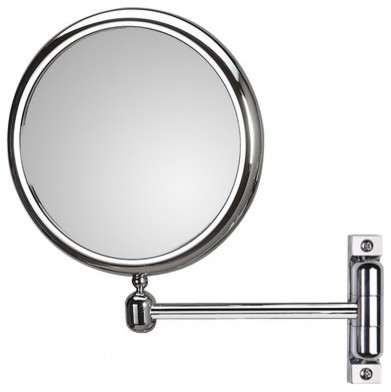 Doppiolo Wall-Mount Magnifying Cosmetic Mirror modern-makeup-mirrors