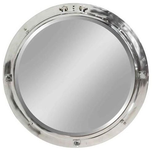 Stein World Bonavista 30 Inch Round Nautical Wall Mirror