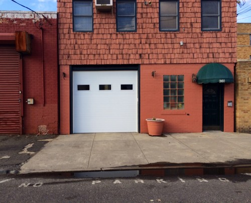 A new commercial garage door calls the right attention to your business.