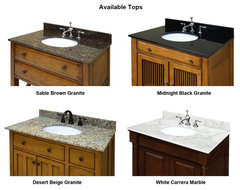 "48"" Cottage Retreat Single Bath Vanity (CR4821D) transitional bathroom vanities and sink consoles"