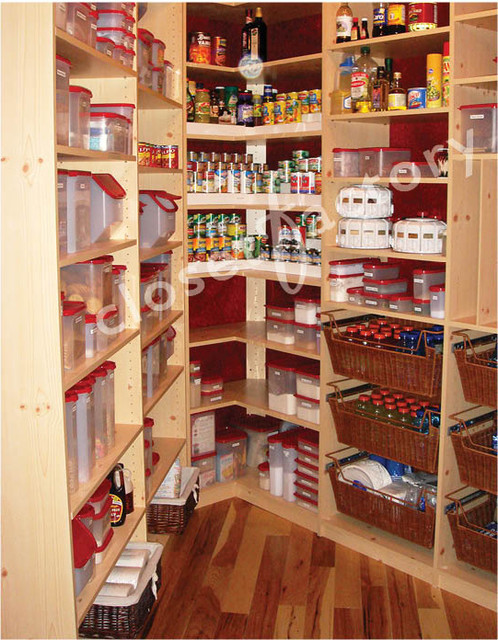 Small walk in pantry ideas for Pantry closet design ideas