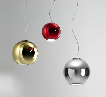 Globo di Luce Pendant Lamp by Fontana Arte Lighting modern-pendant-lighting