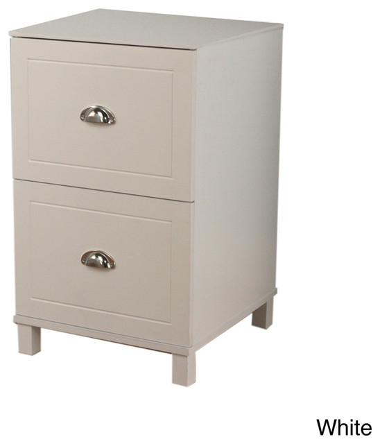 Simple Living Bradley 2-drawer Filing Cabinet - Contemporary - Filing Cabinets - by Overstock.com