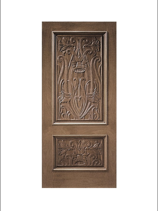 Carved and Mansion Entry Doors Model # 3 -