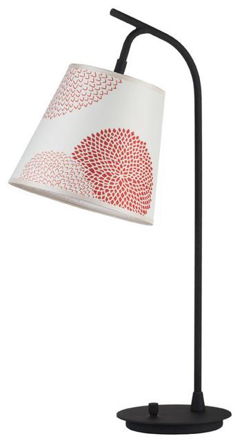 Walker Table Lamp - Red/Orange Mumm modern-table-lamps