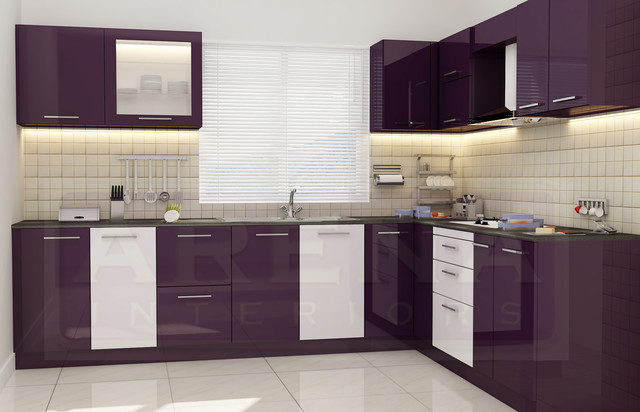 Arena Interiors, Cochin project kitchen-cabinetry