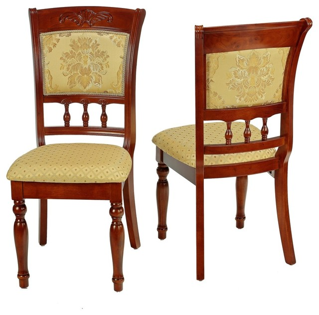 Cortesi Home CH-DC902300 Winthrop Dining Chair (Set of 2) contemporary-dining-chairs
