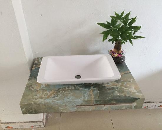 bathroom wash sink -
