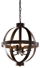 allen + roth Bronze Pendant Light - Mediterranean - Chandeliers - by Lowe's