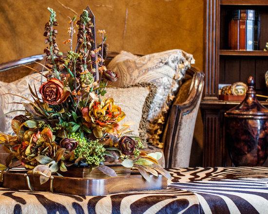 Rust Shelf Arrangement - A Custom, Handcrafted Fall Rust Wall Shelf Silk Floral Arrangement