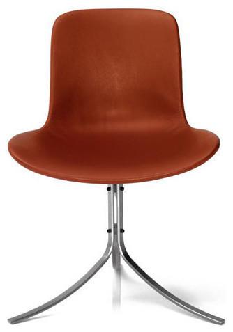 Poul Kjærholm: Fritz Hansen PK9™ Tulip Chair modern-dining-chairs