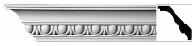 Cornice White Urethane Willamette - Cornice - Ornate | 11387 traditional-molding-and-trim