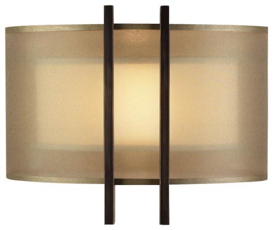 Quadralli Gold Sconce, 437150ST modern-wall-sconces