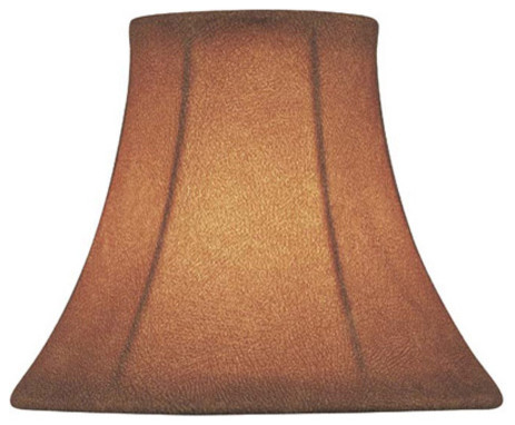 Candelabra Shade/Fabric - 3in.Tx5in.Bx4in.Sl traditional-lamp-shades