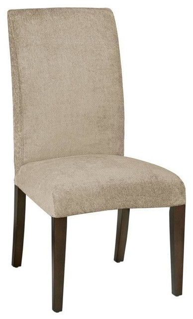 Parsons Side Chair Classic Slipcover - Traditional - Dining Chairs