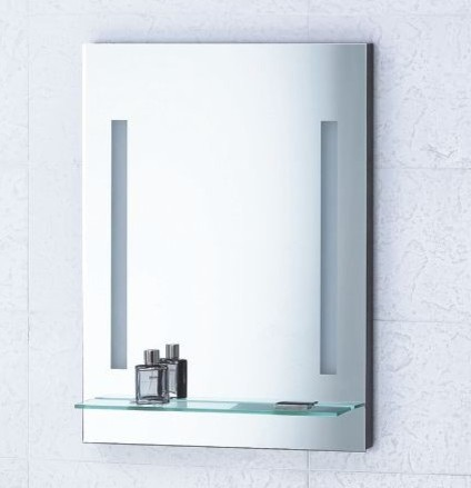 mirror with integrated lighting livorno modern bathroom mirrors