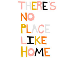 Theres No Place Like Home by Ashley G contemporary artwork