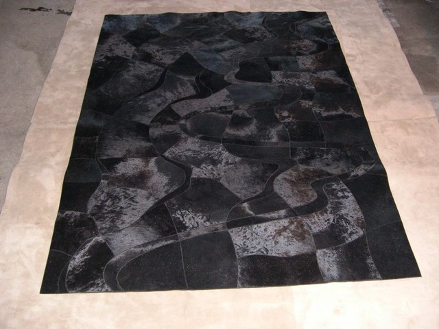 Cow hide modern rugs