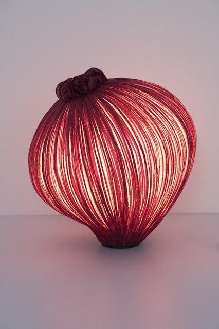 Perla Table Lamp or Pendant Aqua Creations contemporary-pendant-lighting