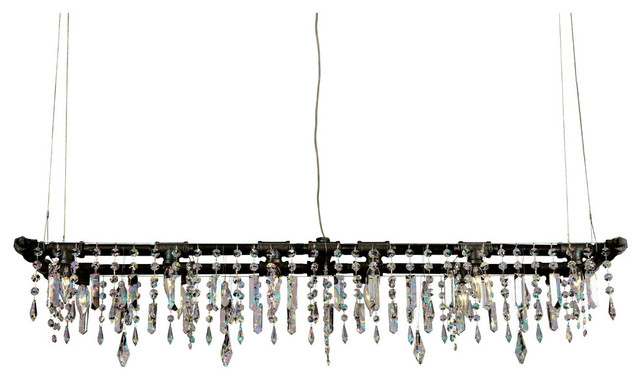 """Tribeca Collection Banqueting Chandelier, Standard Cables (Adjustable Up to 40"""") industrial-chandeliers"""