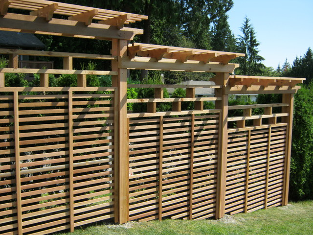 North vancouver privacy screen other metro by quality for Wooden garden screens design