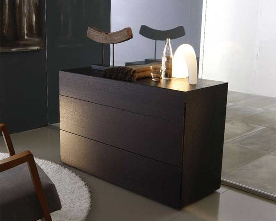 Sound Contemporary 3 Drawer Dresser By Rossetto - Quiet elegance is at the heart of the Sound Contemporary 3 Drawer Dresser, which features a warm wood finish and minimalist styling. A new timeless classic, the dresser lends sophistication to any bedroom set.
