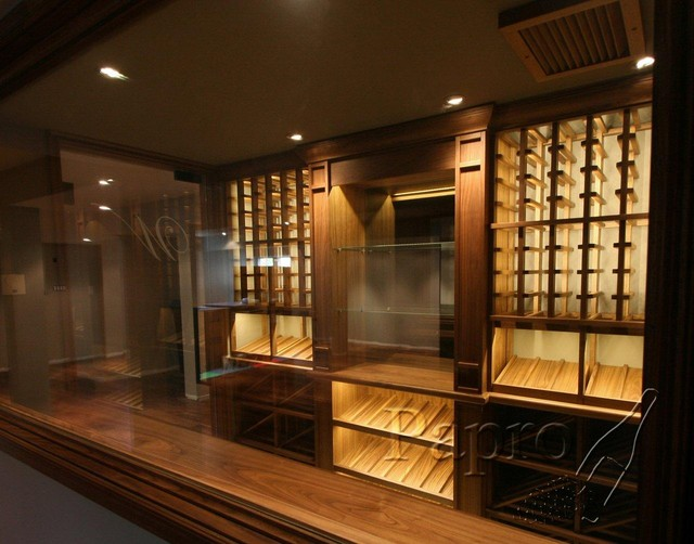 Modern Wine Cellars by Papro Consulting modern wine cellar
