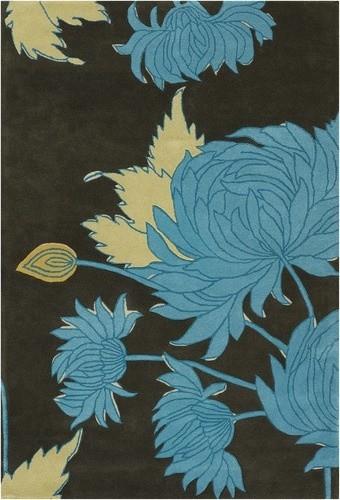 Amy Butler Chrysanthemum Rug modern-rugs