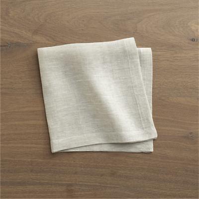 Leela Silver Napkin contemporary-napkins