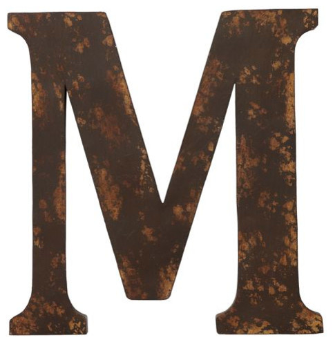 Metal Letters Traditional Artwork By Pottery Barn