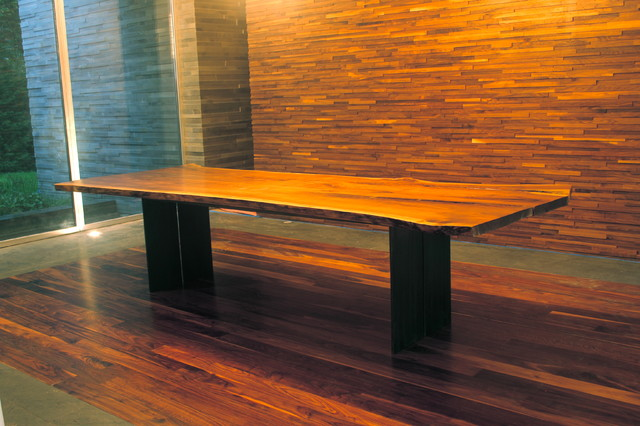SLAB DINING TABLE, MILO BASE dining-tables