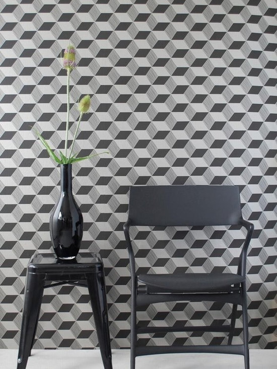 Ferm Living Squares Wallpaper - Ferm Living's Wallpaper is graphic & whimsical adding character, charm and personality to any room. Wallpaper has a striking effect and will without a doubt turn your room into a sanctuary.